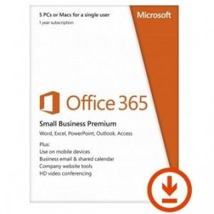 Microsoft Office 365 Home (5 Devices) - 1 Year - Digital Download