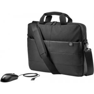 Hp 1FK06AA Classic Briefcase 15.6 And Mouse