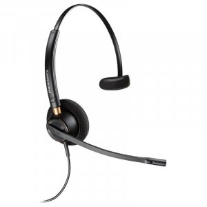 Plantronics EncorePro HW510D Over-the-Head Wideband Monaural NC Corded Headset