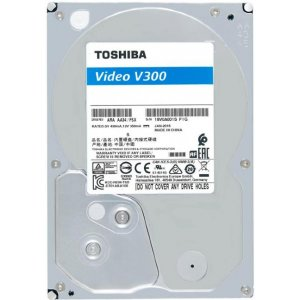 "Toshiba HDWU110UZSVA 1TB V300 Video Stream INT 3.5"" 5700RPM HDD"