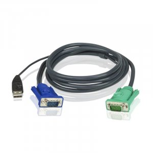 ATEN 2L-5201U USB KVM Cable with 3 in 1 SPHD - 1.2m