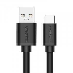 UGREEN 20884 USB 3.0 to USB-C Type cable Black 2M