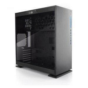 In Win 303 Mid Tower ATX Windowed Case - Black