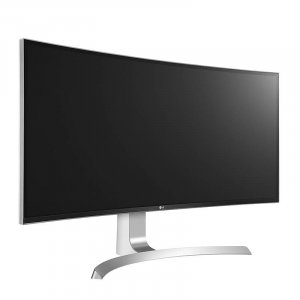 "LG 34UC99-W 34"" UWQHD Curved UltraWide FreeSync IPS LED Monitor - White"