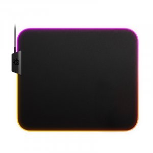 SteelSeries QcK Prism Cloth RGB Gaming Mouse Pad - Medium 63825