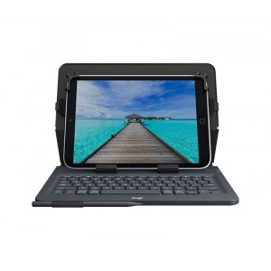 "Logitech Universal Folio with Integrated Keyboard for 9-10"" Tablets 920-008334"