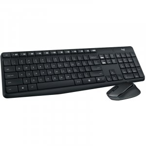 Logitech MK315 Quiet Wireless Keyboard and Mouse Combo 920-009068