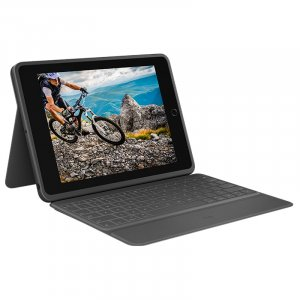 Logitech Rugged Folio Keyboard Case with Bluetooth for iPad 7th Generation 920-009458