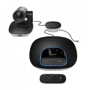 Logitech GROUP Video Conferencing System for Mid/Large-Sized Meeting Rooms 960-001054