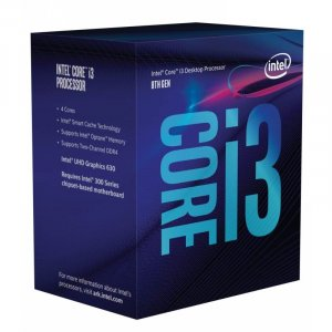 Intel Core i3 8100 Coffee Lake Quad Core LGA 1151-2 3.60GHz CPU BX80684I3810