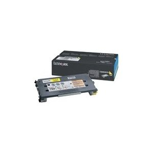 Lexmark Yellow Toner cartridge 1.5K pages (C500S2YG)