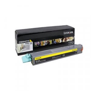 Lexmark C925H2YG High Yield Yellow Toner 7,500 pages Yellow