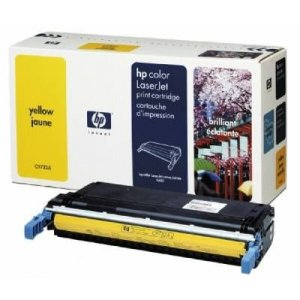 HP C9732A Yellow Toner Cartridge - Page Yield 12000