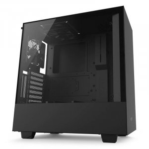 NZXT H500i Compact RGB Mid-Tower Case - Matte Black