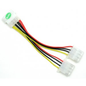 Power Splitter Y-Cable MOLEX (normal cd/hdd type power)