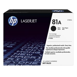 Hp 81a Black Original Laserjet Toner Cartridge For Mfp M630z/m630dn/m630f/m630h
