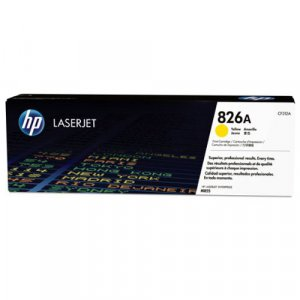 HP #826A Yellow Toner CF312A 31,500 pages