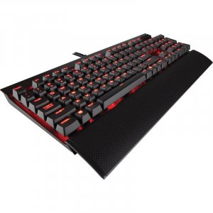 Corsair K70 LUX Red LED Mechanical Gaming Keyboard - Cherry MX Blue