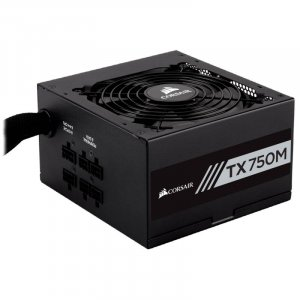CORSAIR TX750M 750W 80 Plus Gold Power Supply Unit PSU