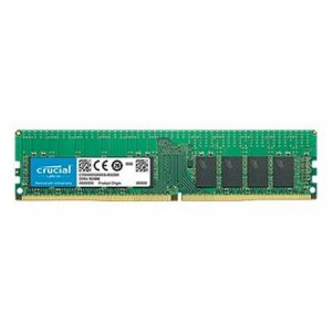 Crucial 16gb (1x16gb) Ddr4 2666mhz Ecc Registered Rdimm Cl19 CT16G4RFD8266