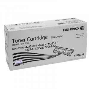 Fuji Xerox Black Toner High Yield - Up to 2600 pages - CT202330
