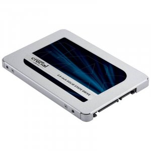 "Crucial MX500 500GB 2.5"" 3D NAND SATA III SSD With 9mm Adapter"