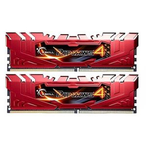 G.Skill Ripjaws 4 16GB (2x 8GB) DDR4 2400MHz Memory Red