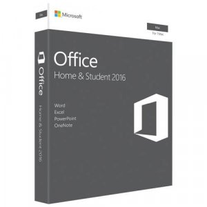 Microsoft Office Home and Student 2016 for Mac - 1 MAC - Retail (New Package)