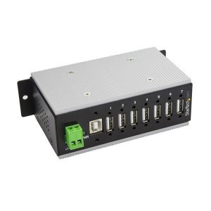 StarTech 7 Port Industrial USB Hub - USB 2.0 - 15kV ESD Protection HB20A7AME