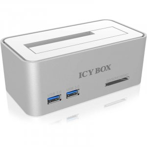 ICY BOX IB-111HCR-U3 Hard Disk Docking for SATA w/ USB 3.0 Card Reader