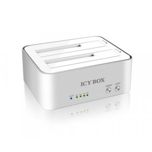Icy Box Ib-120Cl-U3 2-Bay Docking And Clone Station