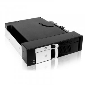 ICYBOX IB-172SK-B  TWO IN ONE Mobile Rack SATA 2Bay