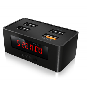 ICY BOX IB-CH403 4-Port USB Fast Charging Device