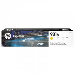 HP 981A Yellow Original PageWide Cartridge (J3M70A)