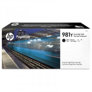 HP 981Y Extra High Yield Black Original PageWide Cartridge (L0R16A)