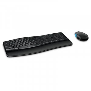 Microsoft Sculpt Comfort Desktop Wireless Keyboard and Mouse Combo L3V-00027