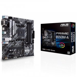 ASUS PRIME B550M-A AM4 Micro-ATX Motherboard