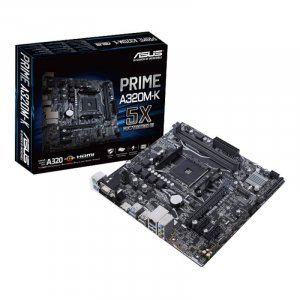 ASUS PRIME A320M-K AM4 Micro-ATX Motherboard Prime
