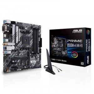 ASUS PRIME B550M-A WIFI AM4 Micro-ATX Motherboard