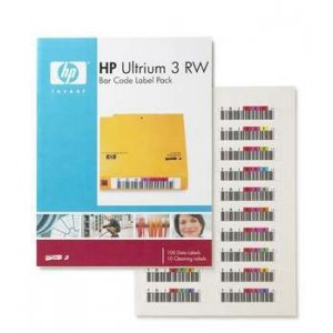 Hpe Q2007a Hp Lto3 Ultr Rw Barcode Label Pack 100's