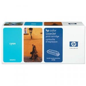HP Cyan Toner Cartridge 6K pages (Q2681A)