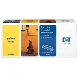 HP Yellow Toner Cartridge 6K pages (Q2682A)