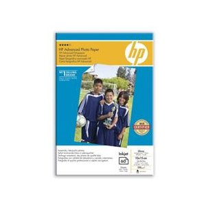 HP ADVANCED GLOSS PHOTO PAPER 60 SHT A6