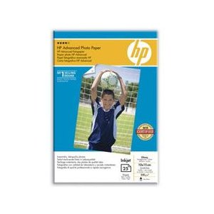 HP ADVANCED GLOSS PHOTO PAPER 25 SHT A6