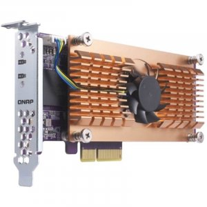 QNAP QM2-2S Card, Dual M.2 Sata SSD Expansion Card, Low Profile Bracket - QM2-2S