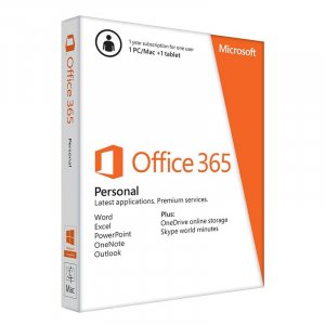 Microsoft Office 365 Personal (1 PC) - 1 Year - Digital Download