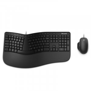 Microsoft RJU-00015 Wired Ergonomic Desktop Mouse & Keyboard Combo