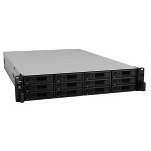 Synology RackStation RS18017xs+ 12 Bay Diskless NAS - Xeon D-1531 6 Core CPU
