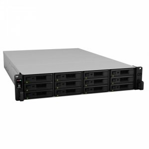 "Synology RX1217sas 12 Bay 3.5""/2.5"" SAS/SATA NAS Expansion Unit"
