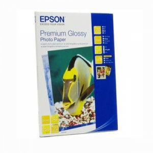 Epson S041287 Premium Glossy Photo Paper A4 20 Sheet